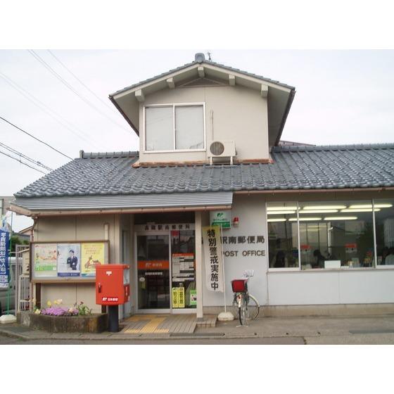 高岡駅南郵便局(393m)