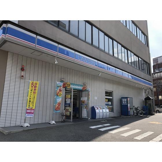 ローソン富山桜橋通り店(294m)
