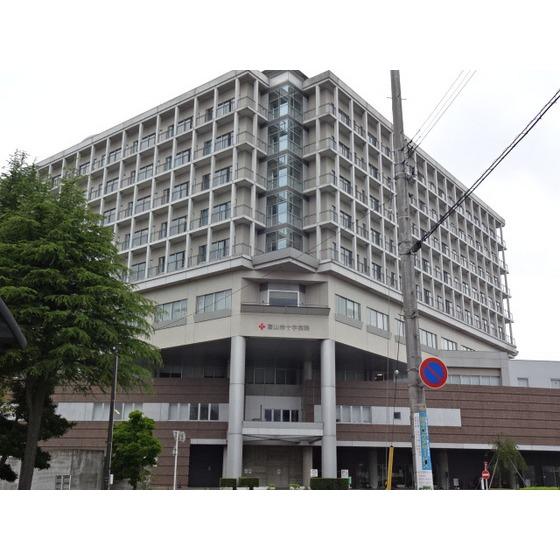 富山赤十字病院(1,388m)