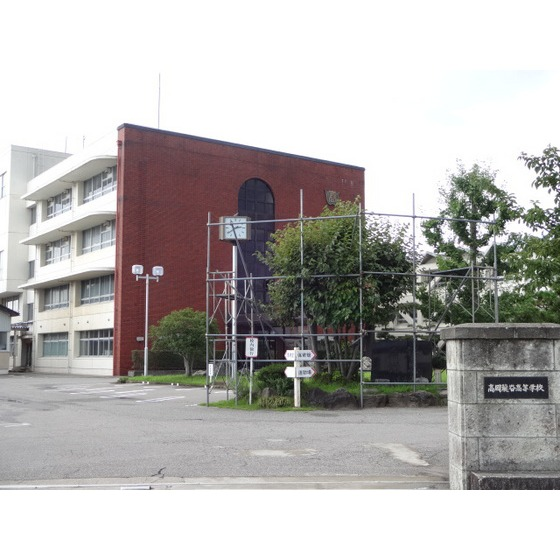 私立高岡龍谷高校(443m)