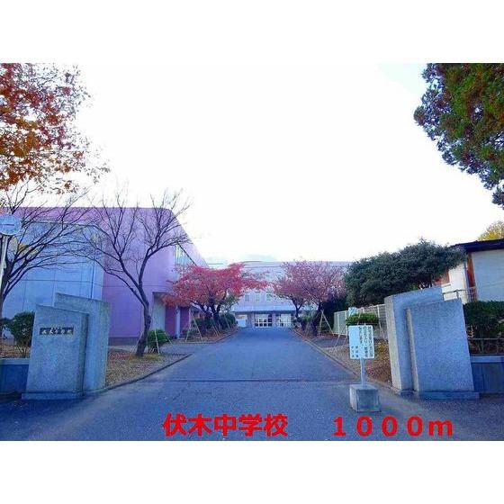 伏木中学校(1,000m)