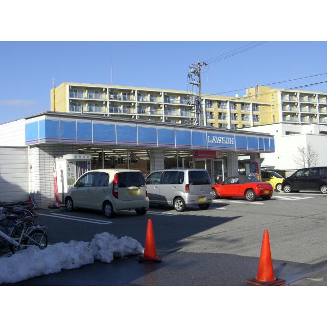 ローソン富山大学西門前店(404m)