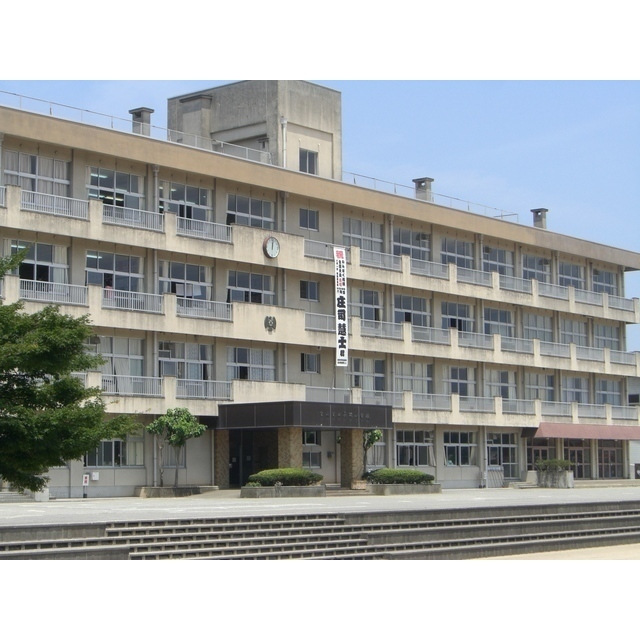 呉羽小学校(329m)
