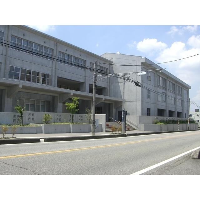 呉羽中学校(374m)